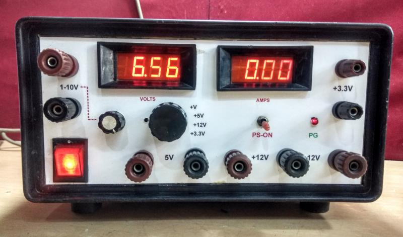 Bench top multi-output power supply